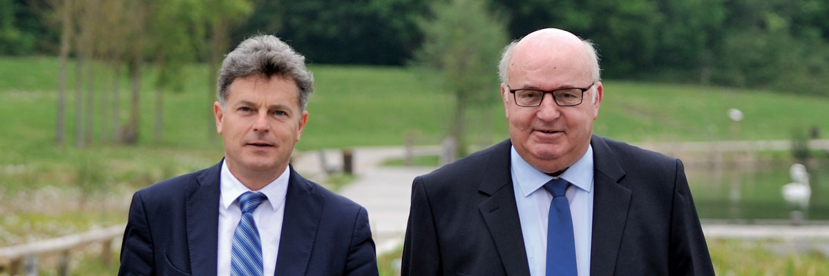 Fabien Roussel et Alain Bocquet
