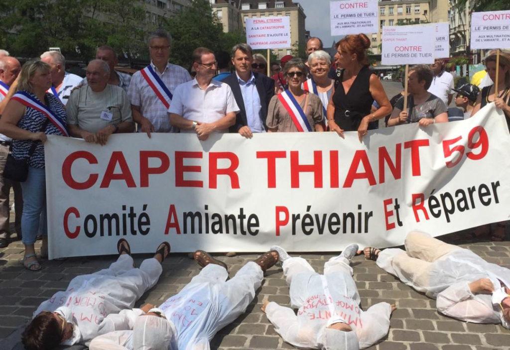 Justice pour les salariés victimes de l'Amiante
