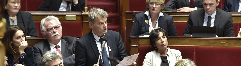 Fabien Roussel à l'Assemblée Nationale